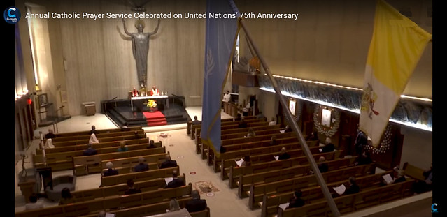 USA-2020-09-14-Prayer Service Marks Opening of UN General Assembly