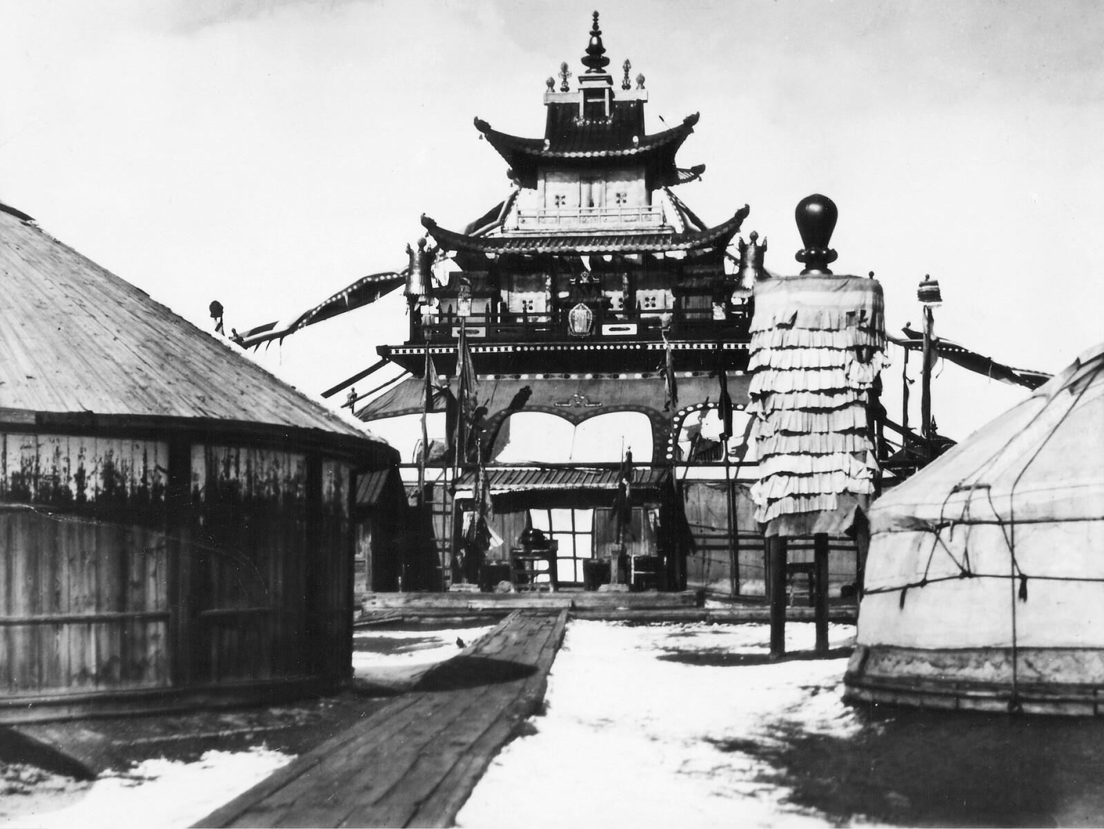 1928. Храм в Улан-Баторе