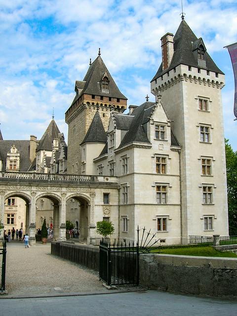 Le château de Pau en région Nouvelle-Aquitaine, France