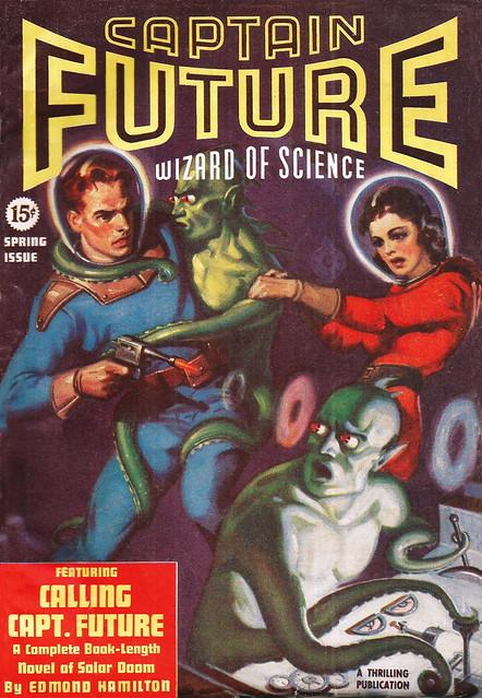Captain Future / Spring 1940 (Vol#1 #2)