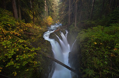 Sol Duc Falls by The Photography of Scott Eliot
