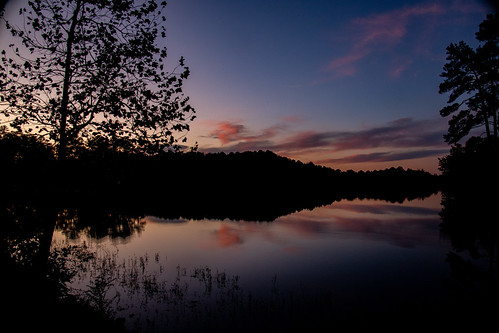 Sunset at Oak Mountain