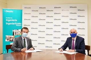 12/11/2020 - Deusto y Siemens se unen para consolidarse como referentes en la formación de profesionales que lideren la transformación digital de la Industria
