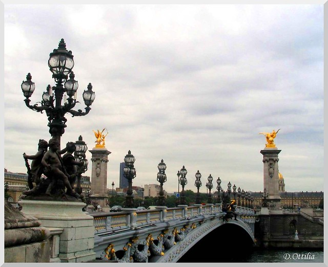 France - Paris - Alexander III Bridge