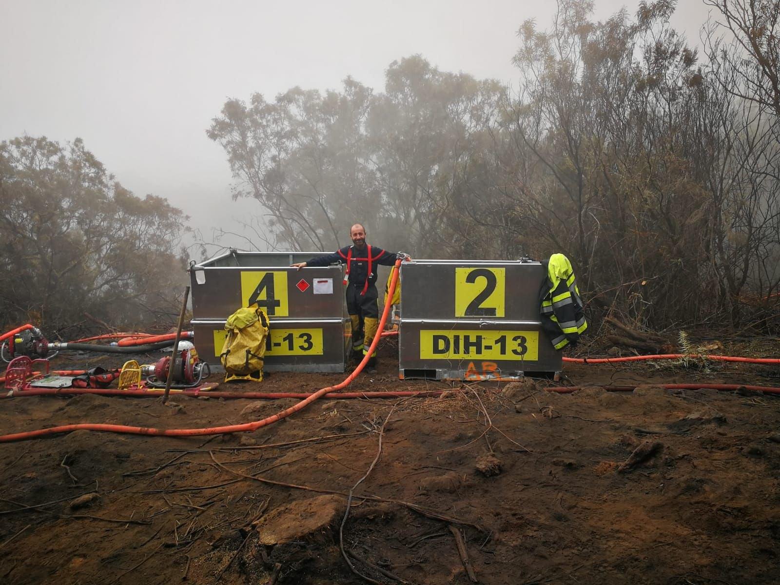 Feu du Maïdo (Réunion) : les Pompiers13 en renfort