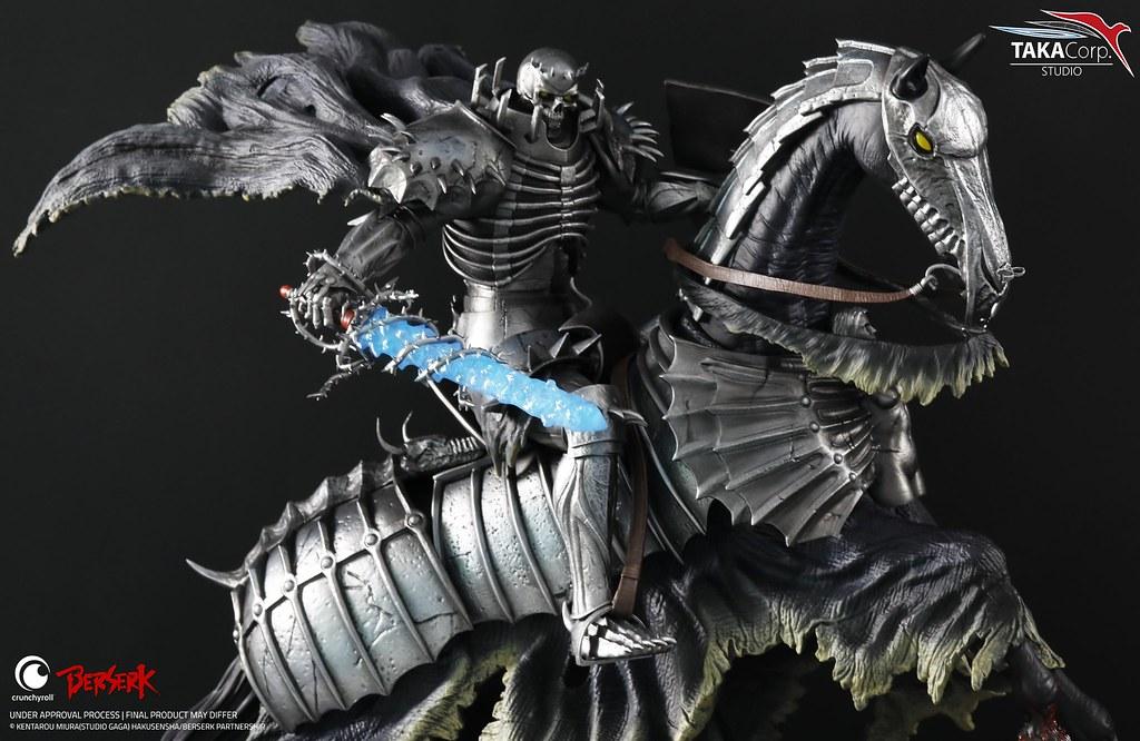 Taka Corp Studio《烙印勇士》骷髏騎士 1/6比例限量雕像 遍佈大地的血淋淋臉孔震撼呈現!