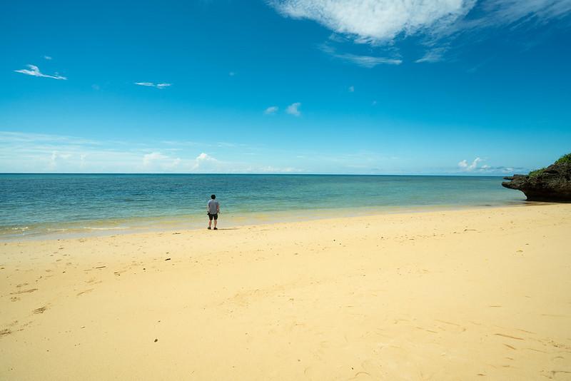 石垣島のプライベートビーチ