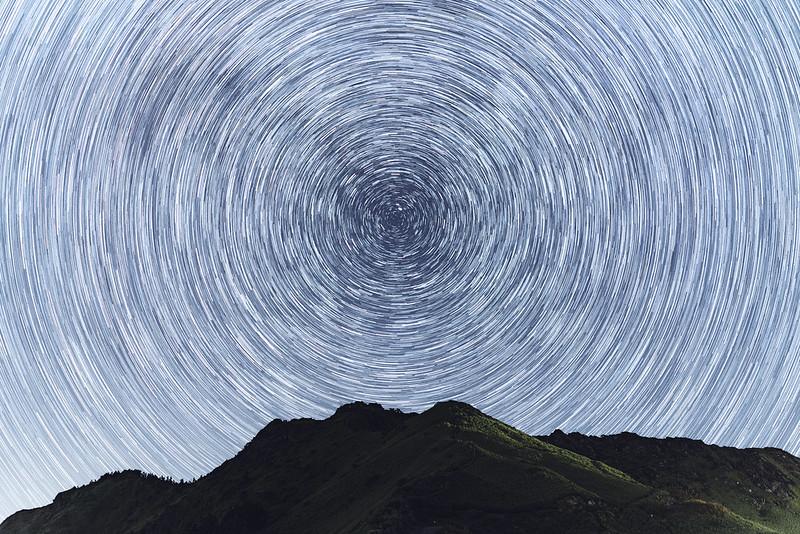合歡山主峰星軌 TAIWAN