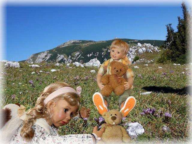 Pezi als Hase ! / Pezi as a rabbit !