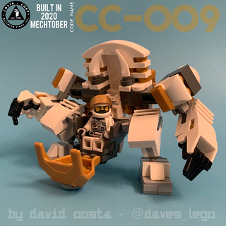 Code CC-009 space suit | by COSTA.CORP