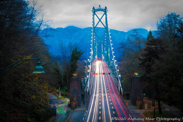 Lions Gate Bridge November 2020