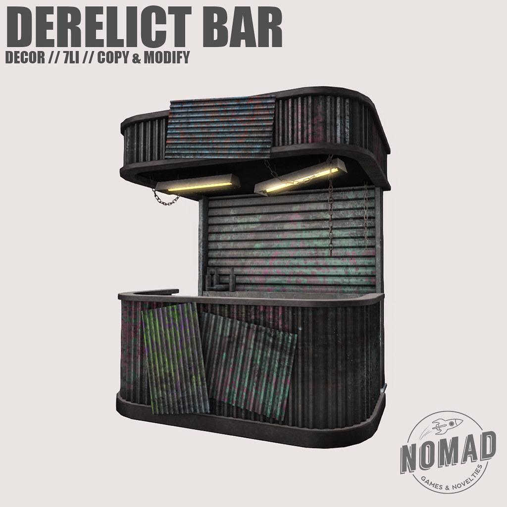 NOMAD // Derelict Bar @ FLF