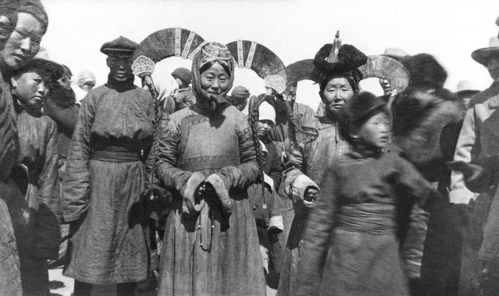 1928. Женщины в Улан-Баторе