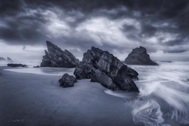 Storm over Adraga.