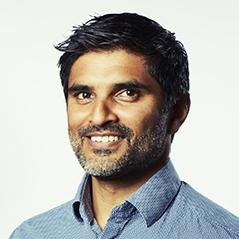 Portrait of Shamir Patel