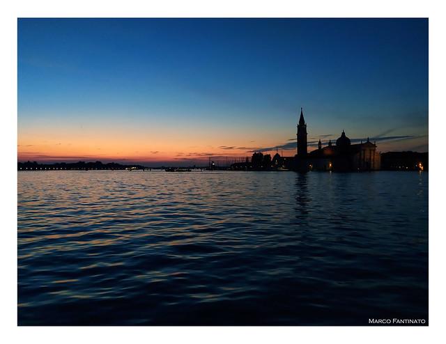 Venezia, l'alba