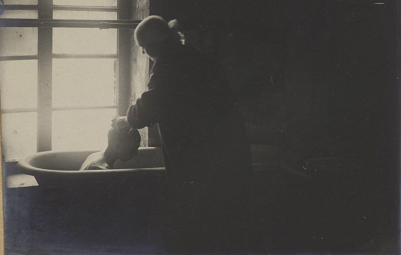 Детский приёмник. Санитарная обработка (Самарская губ., г. Самара)