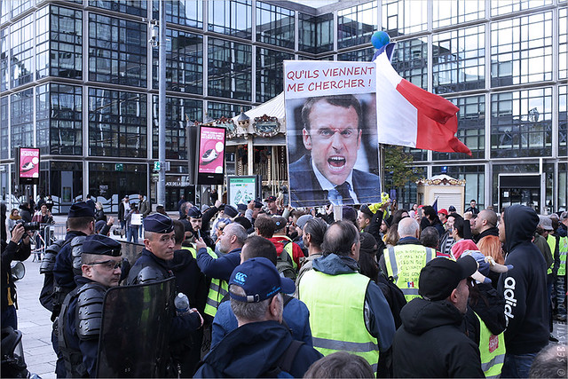 Acte 49 des Gilets jaunes ✔ Paris le 19 octobre 2019 IMG191019_074_©2019 | Fichier Flickr 1000x667Px Fichier d'impression 5610x3740Px-300dpi