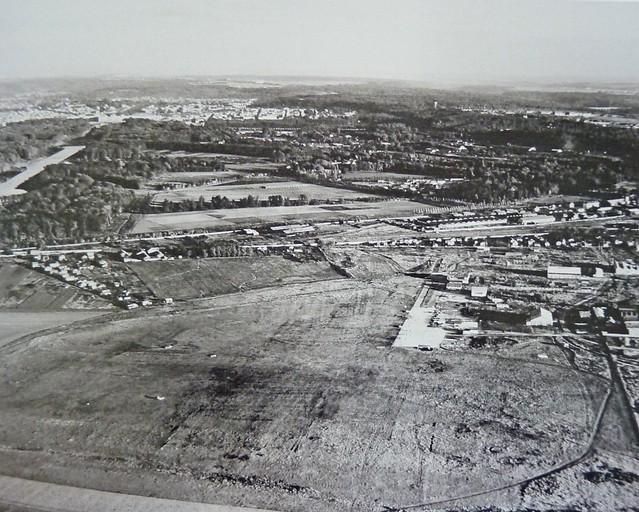 Saint-Cyr Bas Anciens Aérodromes bombardement allié 1944 pistes et hangars détruits