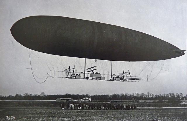 Saint-Cyr Bas Anciens Aérodromes ballon dirigeable