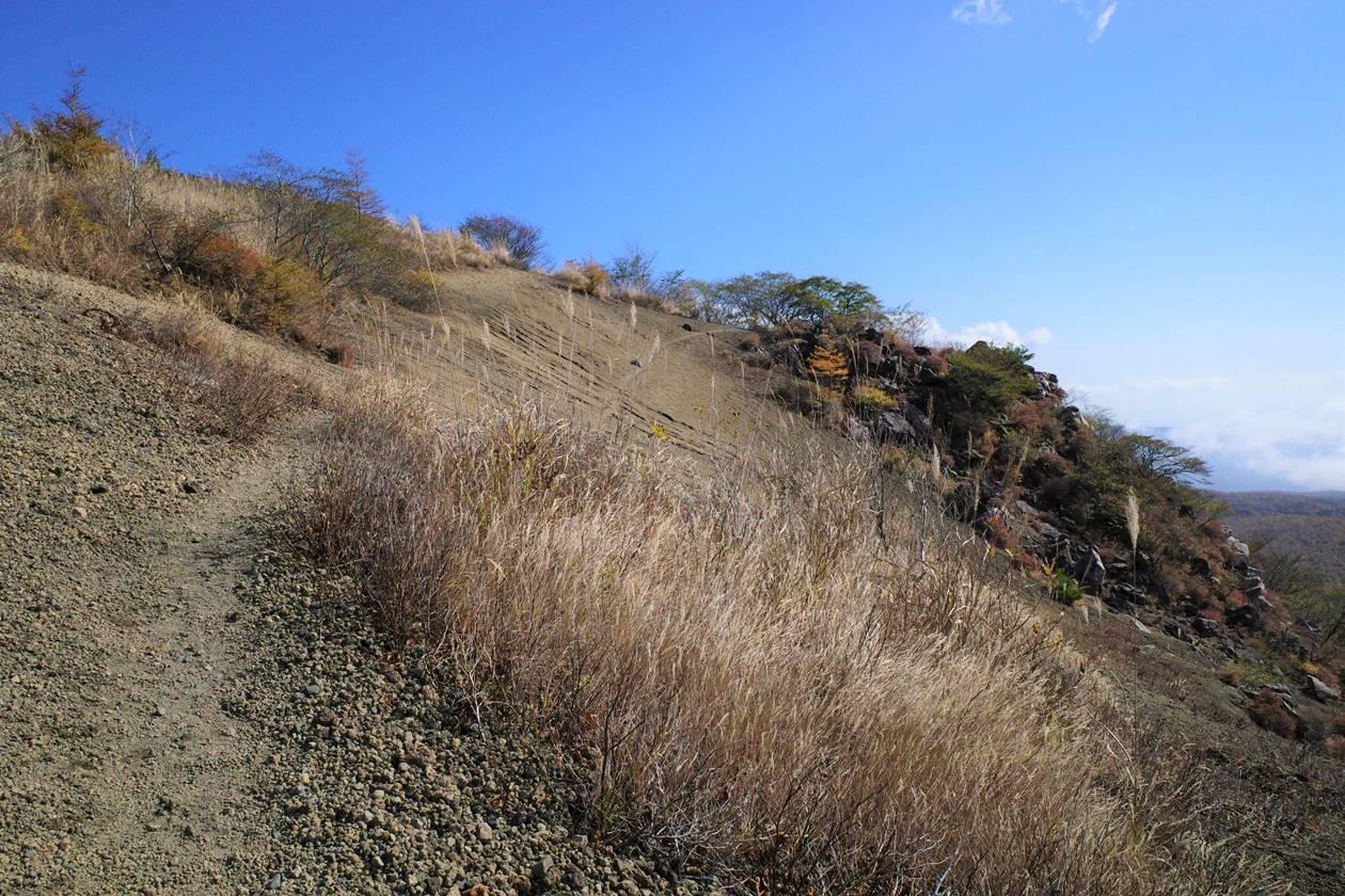 秋の小浅間山登山