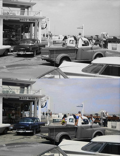 Ocean City 1961 before and after