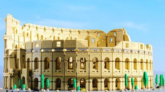 The new Lego Colosseum!