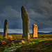 Evening light - Ring of Brodgar