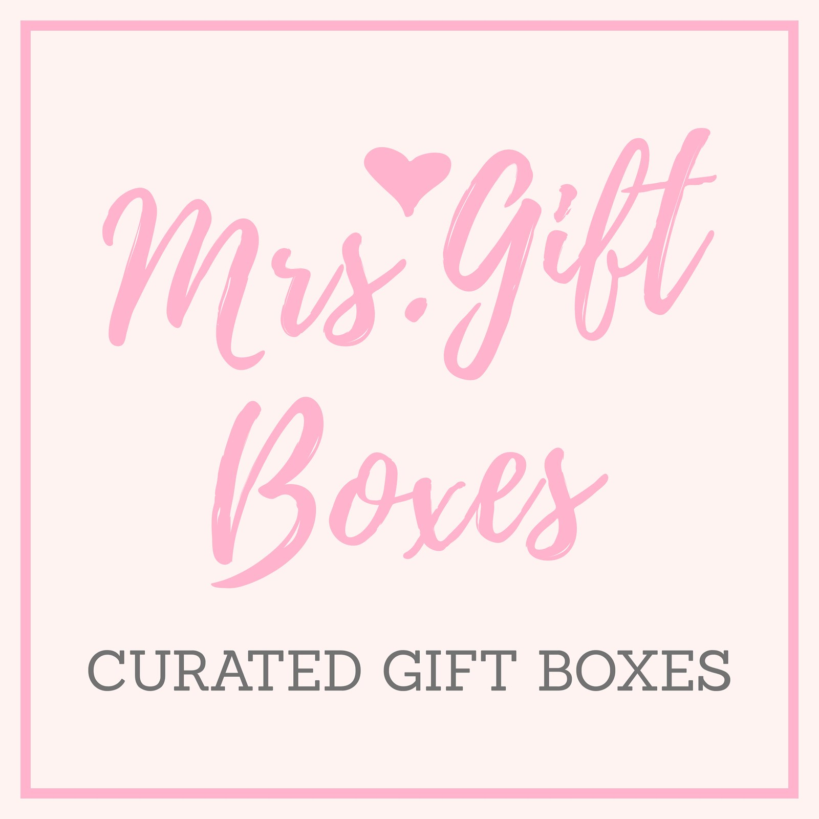Mrs. Gift Boxes - Logo - Square