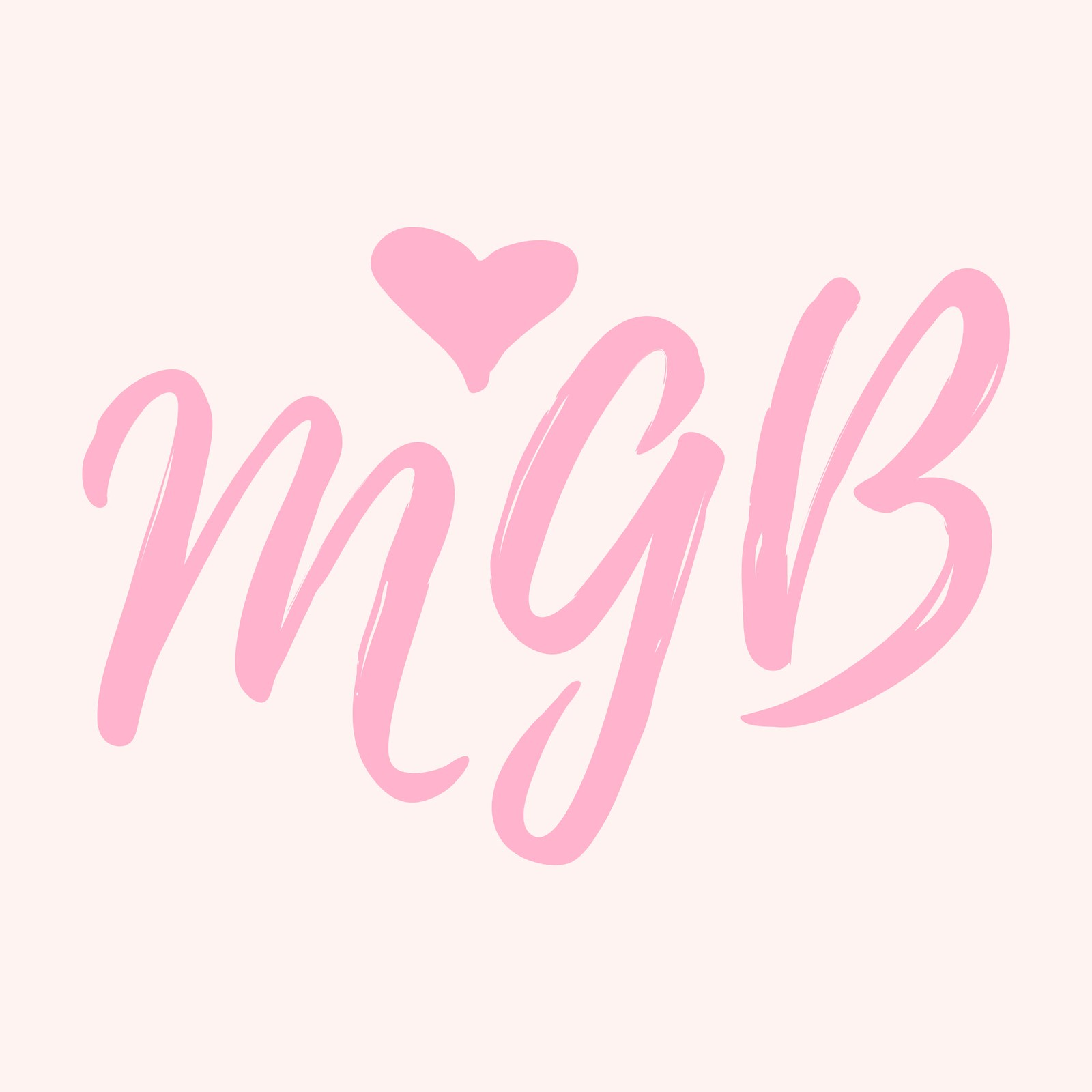 Mrs. Gift Boxes - Logo - Initials