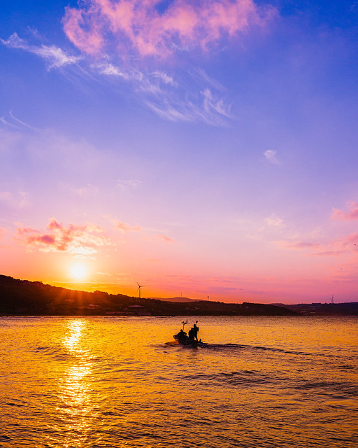 Kilyos Sunset Boat