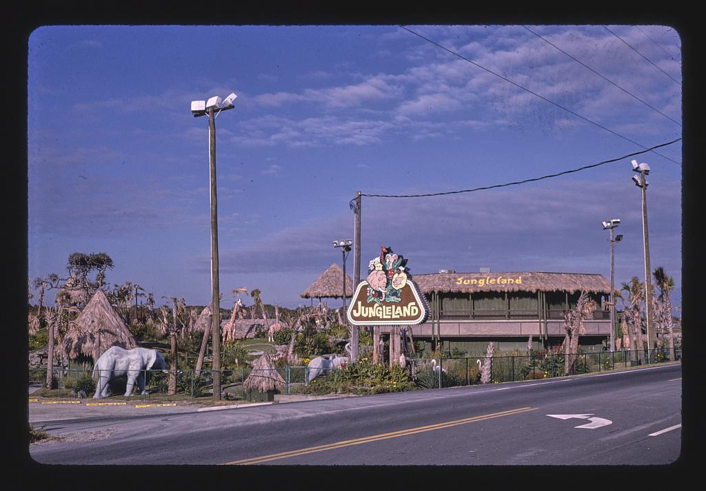 From Route 58, Jungleland miniature golf, Atlantic Beach, North Carolina (LOC)