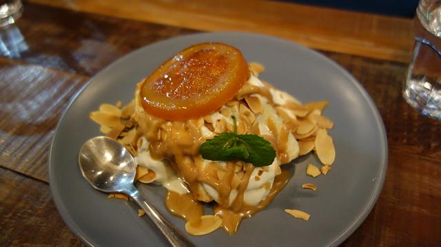 焦糖橙橙蛋糕 (NTD$130)@新北中和/嗑滿