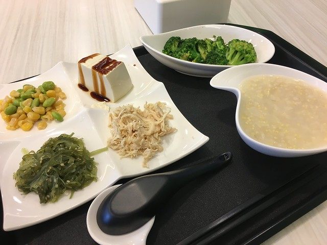國泰健檢後的餐點