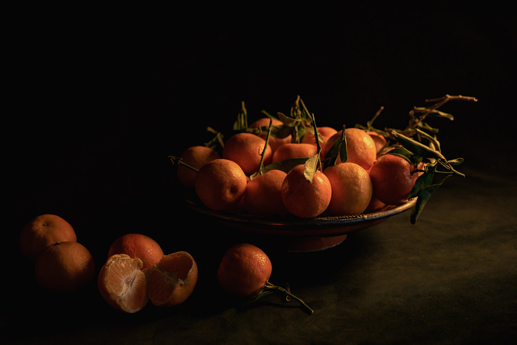 Still Life Clementines