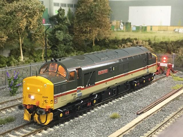 37419 Carl Haviland prepares to depart the sidings @ Eccles Hall
