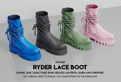 RYDER Lace Boot