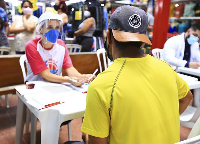 Saúde faz ação do Novembro Azul em Feira do Guará