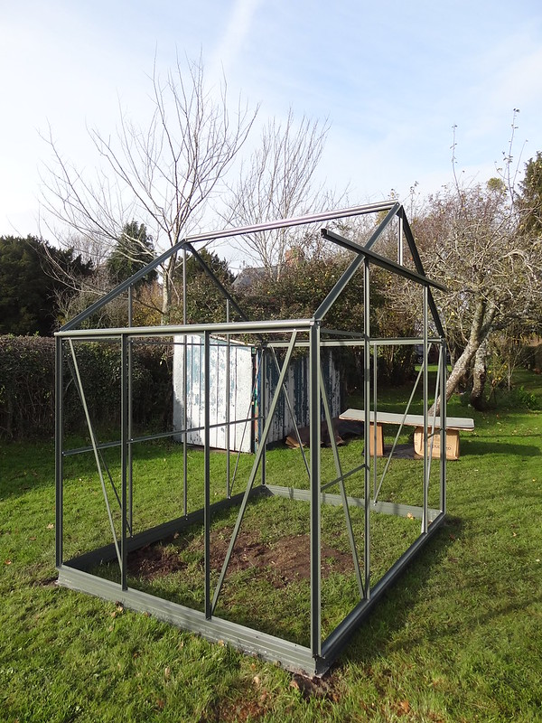 Greenhouse construction, part 3