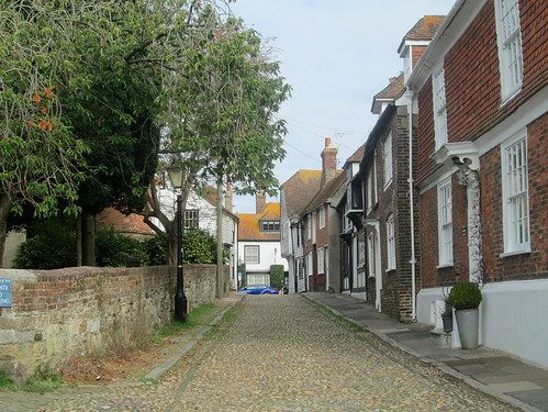 Old Street by St Mary's Church, Rye