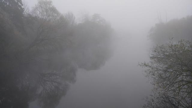 Die Fulda am Morgen