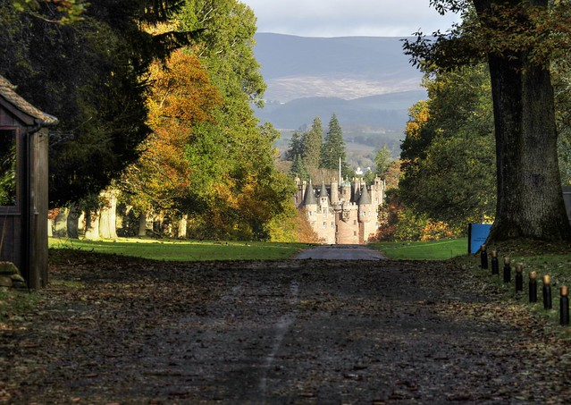 Glamis Castle, Forfar, Angus, Scotland, UK