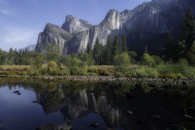 Reflections in Yosemite Valley