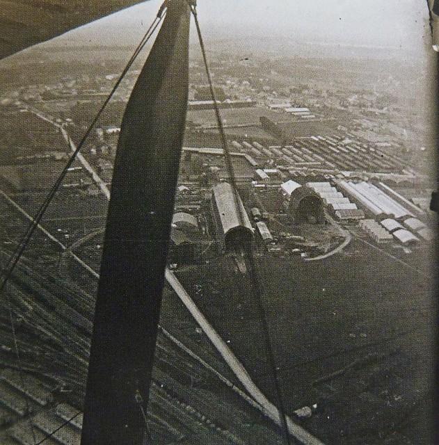 Vue aérienne Saint-Cyr Bas Anciens Aérodromes