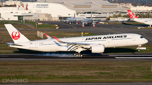 Japan Airlines A350-941 msn 451 F-WZNG / JA07XJ | by dn280tls