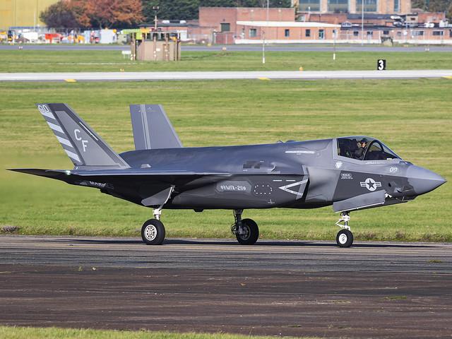 United States Marines VMFA-211 | Lockheed Martin F-35B Lightning II | 169620