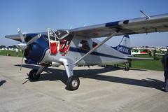 G-EVMK de Havilland Canada U-6A [672] Sywell 020918