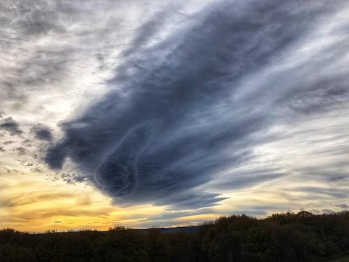 iphonephotography iphone huddersfield meltham sunrise cloud