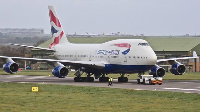 Boeing 747 -436 G-CIVU British Airways