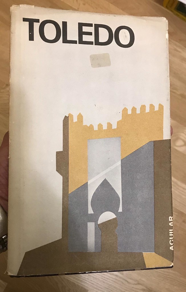 """Librofilm Aguilar dedicado a Toledo en 1965 por la Editorial Aguilar en la serie """"Cities of Spain"""""""